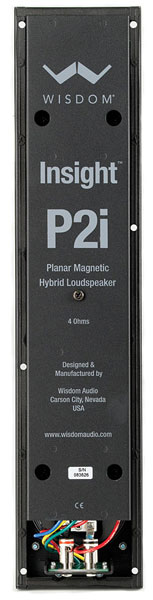 Wisdom Audio P2i back