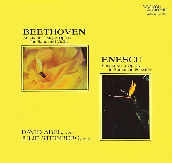 Beethoven: Violin Sonata 10 in G, Op.96 Enescu: Violin Sonata 3, Op.25 (In Romanian Style)
