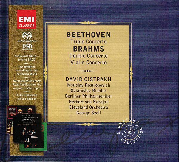 Beethoven: Triple Concerto Brahms: Violin Concerto, Double Concerto