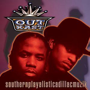 "Outkast ""Southernplayalisticadillacmuzik"" LaFace Records"