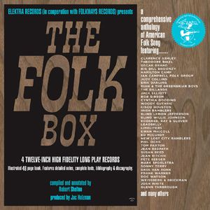 "VariousArtists""TheFolkBox"" Elektra Records"