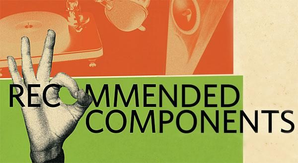 Stereophile recommended components