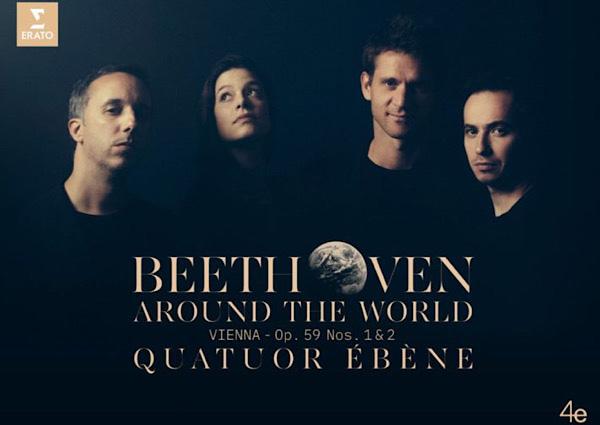 Лучшая музыка 2019 - ноябрь - Quatuor Ebene – Beethoven around the world: Op. 59 Nos 1 & 2 (Vienna) Classical – String Quartet