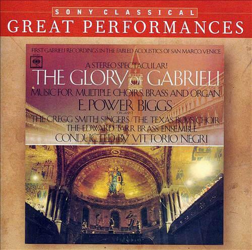 Giovanni Gabrieli The Glory of Gabrieli