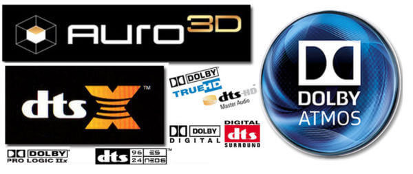 Dolby DTS Auro